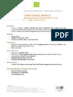 Afor - Corso Nuovo Codice Appalti Ing Lc 26.04.18