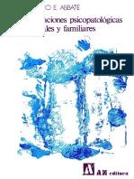 Abbate F.E. 1978. Perturbaciones Psicopatologicas Conyugales y Familiares