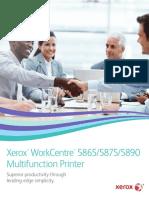 Xerox work center 5890 5875