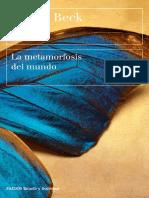 Beck Ulrich - La Metamorfosis Del Mundo.pdf