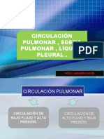 Circulacion Pulmonar, Edema Pulmonar, Liquido Pleural Cap 38