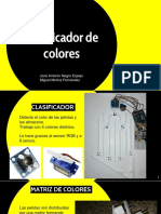 Robot clasificador de Colores