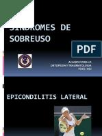 Síndrome de Sobreuso Epicondilitis y Tenosinovitis