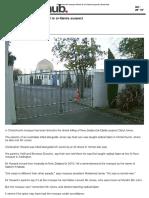 Christchurch Mosque Linked to Al-Qaida Suspect - Newshub.co.nz