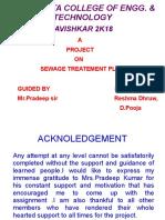 PDF Sewage Treatment Plant