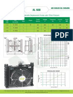 AL608 datasheet of oilcooler for CNC machines
