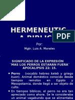 Clase # 4 Hermeneutica