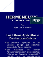 Clase # 5 Hermeneutica