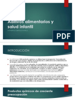 Aditivos Alimentarios y Salud Infantil