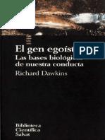 El Gen Egoista R Dawkins Biblioteca Cientifica Salvat 1993 agregado prologo de R Trivers y portadas.pdf