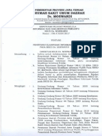 2017 SK Penetapan Klasfikasi Informasi Publik