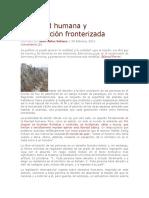 Movilidad Humana y Globalización Fronterizada