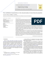 The Contribution of Geostatistics to the Characterisation of Some Bimrock Properties-Annotated