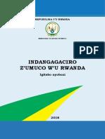 Indangagaciro z Umuco w u Rwand .PDF