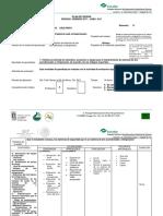 Plan Secc. de Refrigeracion