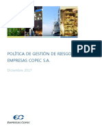 Politica de Gestion de Riesgos COPEC