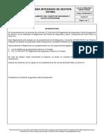 SSYMA-R03.07 Reglamento Del Comite de Seguridad y Salud Ocupacional V7