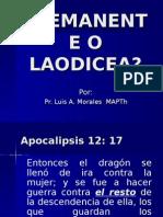 Remanente o Laodicea
