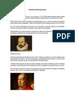 Filósofos Del Renacimiento