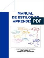 Manual de estilos de aprendizaje