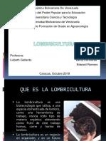 Presentación de Lombricultura