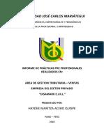 INFORME DE PRÁCTICAS DE HAYDEE 2019.docx
