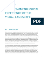 the pheomenological experience of landscape