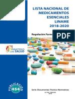 Lista Nacional de Medicamentos LINAME 2018-2020.pdf