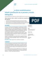 9 Angioqueratoma Distal Seudolinfomatoso Infantil Presentacion de Un Paciente y Revision Bibliografica
