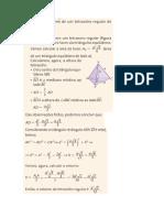 Tetraedro Altura