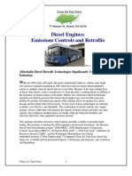 Diesel Engines. Emissions Controls and Retrofits