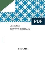 P4-Use Case & Activity Diagram