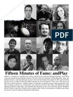 15 Minutes of Fame AndPlay