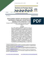 Adicciones y enfoque sistémico