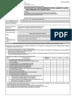 Formulir Penyerahan Dan Pelepasan Polis Sebagai Jaminan Kolateral XBankers Clausex Untuk Corporate 0615