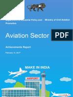 Aviation Sector - Achievement Report