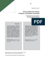 De la pulsión de muerte, el deseo y la pulsión invocante.pdf