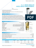 C1.0 Series Absolute Rated Vapor Phase Elements