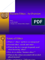 Ch1.Vela Business Ethics Overview