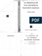 Wegner Jaeger - La teología de los primeros filosofos griegos.pdf