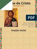 Ícone de Cristo - Pantocrator