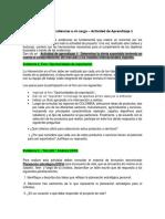 Instrucciones Evidencias 2,3,4 y 11 Actividad de Aprendizaje 1 Lider Yasmid o