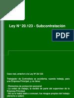 Ley 20123