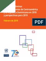 CEPAL-Balance Preliminar de Las Economías de Centroamérica y La República Dominicana en 2018