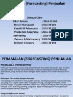 Peramalan (Forecasting) Penjualan-2