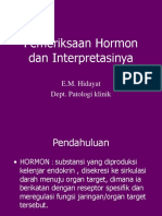 pemeriksaan hormon