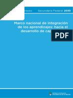 marco integración aprendizajes