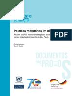 CEPAL-Políticas Migratórias Em Nível Local (Portugues)