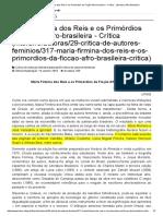 DUARTE, E. A. Maria Firmina dos Reis e os Primórdios da Ficção Afro-brasileira - Crítica - Literatura Afro-Brasileira.pdf