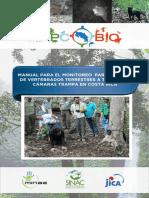 Manual para el monitoreo participativo de vertebrados terrestres a través de camaras trampa en Costa Rica.pdf